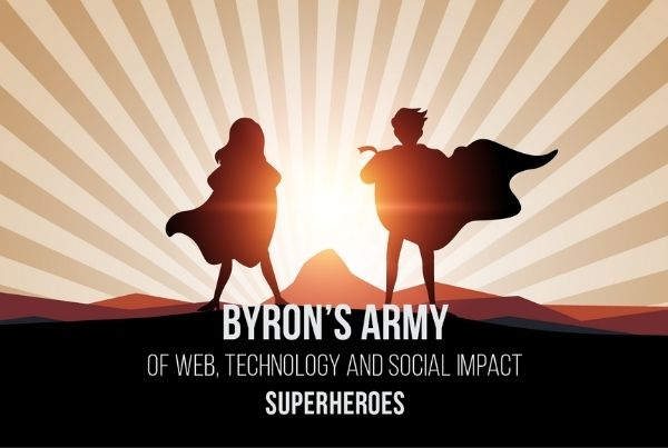 Byron's Army of Web, Technology and Social Impact Superheroes